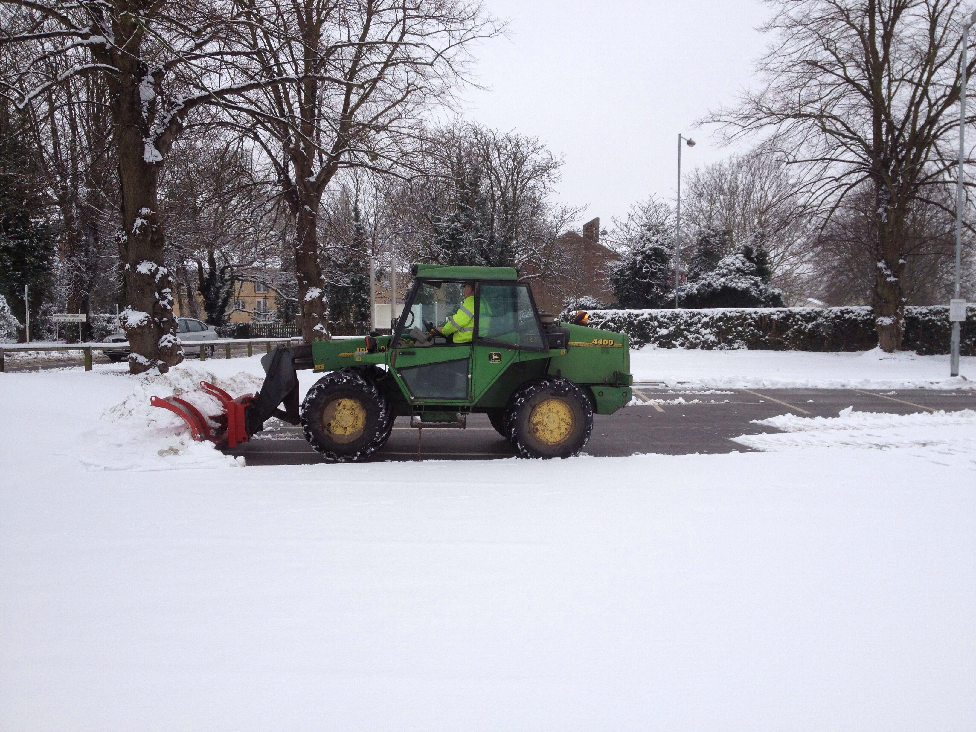 Winter Gritting Peterborough
