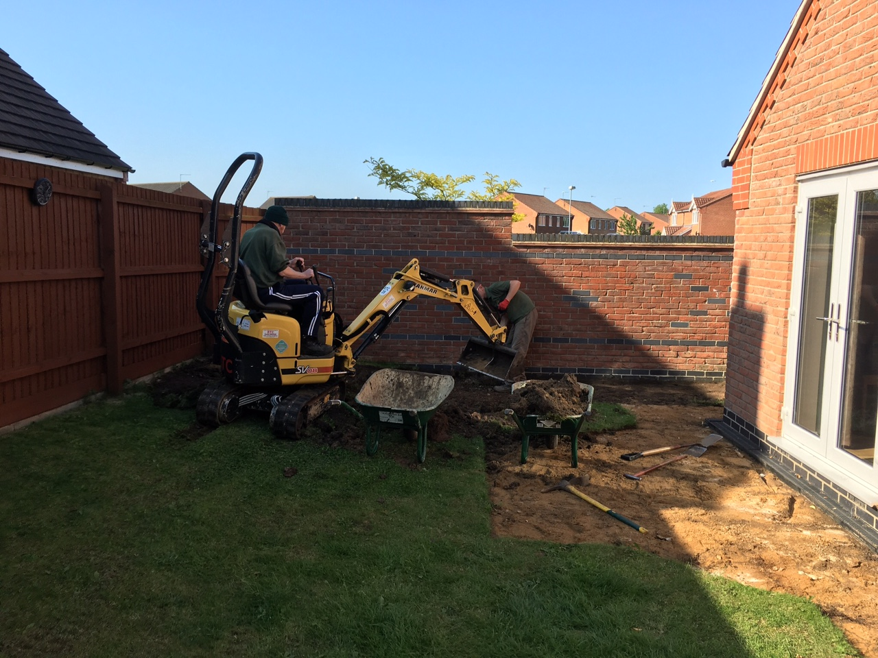 Domestic Landscaping Peterborough