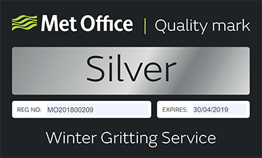 Winter Gritting Services Quality Mark